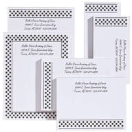 Personalized Polka Dots Business Notepads Refill Set of 6