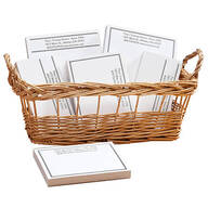 Personalized Classic Business Basketful of Notepads