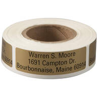 Large Print Self-Stick Address Labels, Roll of 250