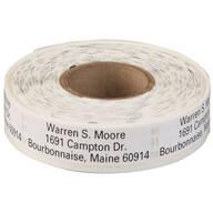 Large Print Self-Stick Address Labels, Roll of 500