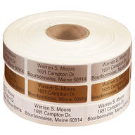 Large Print Self-Stick Address Labels, Roll of 1000