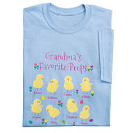 Personalized Favorite Peeps T-Shirt By Sawer Creek Studio™