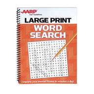 AARP Large Print Word Search