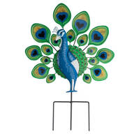 Peacock Lawn Stake by Fox River Creations™