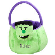 Personalized Frankenstein Trick-or-Treat Bag