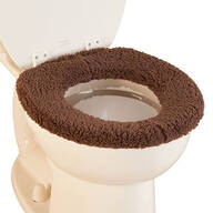 Sherpa Toilet Seat Cover by OakRidge™ Comforts