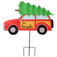 Personalized Woody Wagon Lawn Stake by Fox River™ Creations