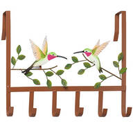 Hummingbird Over-the-Door Hooks