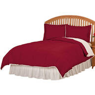 Sherpa Lined Alternative Down Comforter with Shams by OakRidge™