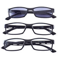 Reading Glasses With Sunreader, Set of 3