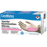 CareMates® Vytrile™ Gloves, Set of 100
