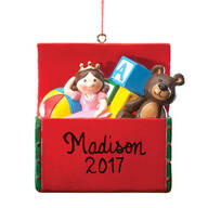 Personalized Toy Box Ornament
