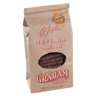 Asher's® Milk Chocolate Covered Graham Crackers