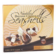 Belgian Chocolate Seashells, 7 oz.
