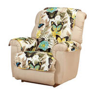 Butterfly Microfiber Recliner Protector
