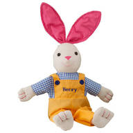 Personalized Springtime Bunny