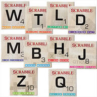 Scrabble Puzzle Books, Set of 10