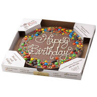 Chocolate Pizza®, 14 oz.–Happy Birthday