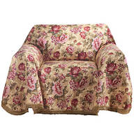 Floral Chair Throw