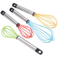 Silicone Whisks - Set of 4