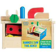 Melissa & Doug® Hammer & Saw Tool Bench