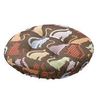 Calico Cats Bar Stool Cushion