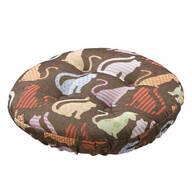 Calico Cats Bar Stool Cushion