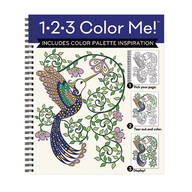 1-2-3 Color Me Hummingbirds Coloring Book