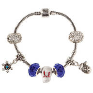 Winter Wonderful Stainless Steel Charm Bracelet