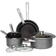 Gray Non-Stick Cookware 8-Piece Set by Home-Style Kitchen