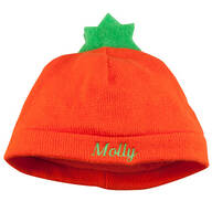 Personalized Pumpkin Baby Hat