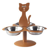 Metal Multiple Cat Feeder