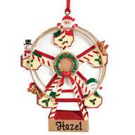 Personalized Ferris Wheel Ornament
