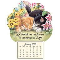Mini Magnetic Calendar–Kitten Friends
