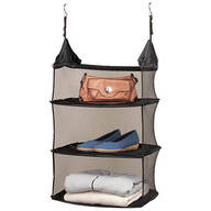 Collapsible Hanging Closet Shelf
