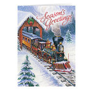 Personalized Christmas Express Card Set of 20