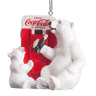 Coca-Cola® Polar Bears at Vending Machine Ornament