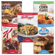 Kellogg's® Cookbooks, Set of 5