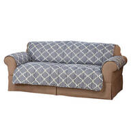 Mirage Print Microfiber Sofa Protector