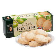 Pure Butter Key Lime Shortbread Cookies
