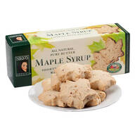 Pure Butter Maple Syrup Shortbread Cookies