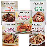 Crock-Pot® Cookbooks, Set of 5