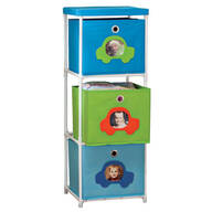 Children's 3-Bin Storage