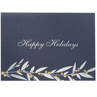 Holiday Berries Christmas Cards - Set of 18