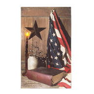 Lighted God & Country Canvas