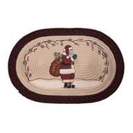 Santa Braided Rug