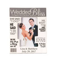 Personalized Really Great News Wedding Frame