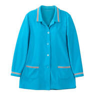 Fleece Jacket with Decorative Trim