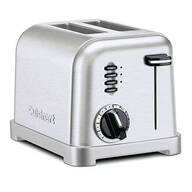Cuisinart® Metal Classic Two-Slice Toaster