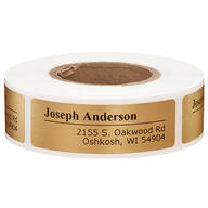 Off-Centered Address Labels - Set of 200